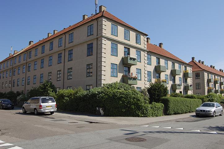 Hjørnet af Kaløvej/Høgholtvej