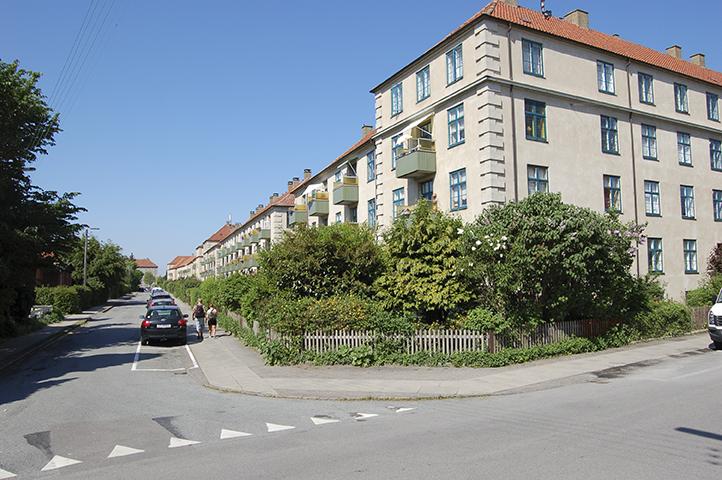 Hjørnet af Høgholtvej/Bangsbovej